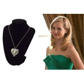 Collier Coeur Caroline S�rie The Vampire Diaries