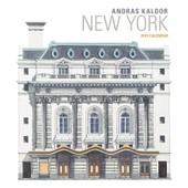 Andras Kaldor New York Calendrier Mural 2016 30 X 30cm
