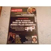 Le Nouveau D�tective N� 1170 Sc�ne De Violences Dans Un Foyer Pour Jeunes Filles Enceintes