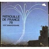 Patrouille De France 78 - Xxve Anniversaire / Plaquette. de COLLECTIF