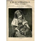 L'illustration Journal Universel N� 1856 - Courrier De Paris - Nos Gravures : La Petite Marchande Tableau De M. Piot - Le Port En Eau Profonde De Boulogne - Exposition Hippique De 1878 - ...