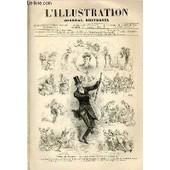 L'illustration Journal Universel N� 1778- Histoire De La Semaine - Courrier De Paris - Les Th�atres - Les Tablettes Du Sphinx - Les Affaires - Les Faits Divers - Petite Gazette - R�bus - ...