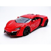 Jada Toys - 1/18 - Lykan - Hypersport - Fast And Furious 7 - 97388r
