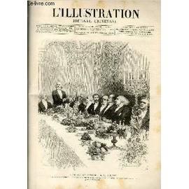 L'illustration Journal Universel N° 2271-Gravures : Le Banquet Du Centenaire De M. Chevreuil - Le Cuirassé D'escadre Le Courbet - Une Représentation Au Théatre Romain D'orange : L'empereur ...