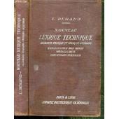 Nouveau Lexique Technique - Allemand-Francais Et Francais-Allemand - Exploitation Des Mines - Metallurgie - Industries Textiles de DEMAND L.