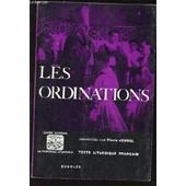 Les Ordinations - Texte Liturgique Francais. de pierre jounel