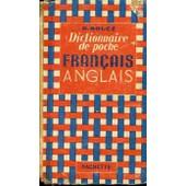 Dictionnaire De Poche - Francais / Anglais. de BOUCE G.