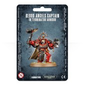 Warhammer 40,000 ( 40k ) - Blood Angels Captain In Terminator Armour (41-16)