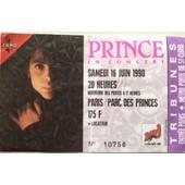 Place Concert Prince Samedi 16 Juin 1990