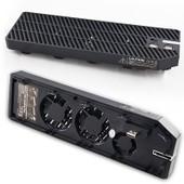 Ventilateur Externe Pour Console De Jeu Microsoft Xbox One + 2x Usb Hub