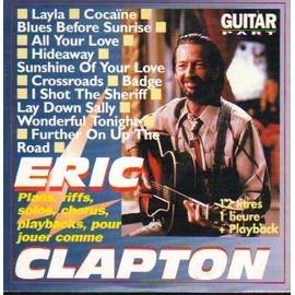 ERIC CLAPTON / GUITAR PART / 18 TITRES OU EXERCICES DE GUITARE
