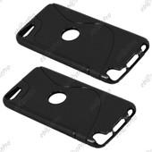 Ebeststar � Etui Housse Coque S-Line Silicone Protection En Gel Pour Apple Ipod Touch 5g, Couleur Noir + 1 Film Protection D'�cran + Lingette