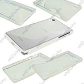 Ebeststar � Etui Housse Coque S-Line Silicone Protection En Gel Pour Sony Xperia Z2 D6502, D6503, D6543, Couleur Transparent + 1 Film Protection D'�cran + Lingette