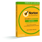 Norton Security Standard - (Version 3.0 ) - Licence D'abonnement ( 1 An ) - 1 Pc/Mac - Win, Mac - Fran�ais