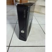 Xbox 360 250go + 2 Mannettes + 1 Volant + 4 Jeux