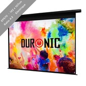 Duronic EPS70 Ecran de projection �lectrique 142 x 107 cm
