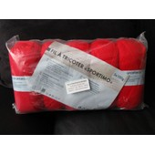 5 Pelotes Laine Fil � Tricoter Rouge Sportimo