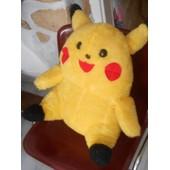 Enorme Peluche Pokemon Pikachu Taille Xxl Ancienne