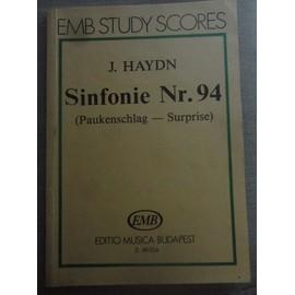 Haydn Sinfonie Nr. 94 Paukenschlag, Surprise