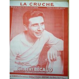 LA CRUCHE Gilbert Bécaud