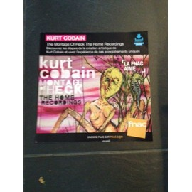 KURT COBAIN PLV 2015 NIRVANA FNAC the montage of HECK