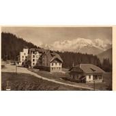 Carte Postale Ancienne - 124 6- Praz-Coutant (Hte Savoie) - Le Sanatorium