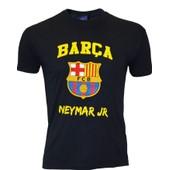 T-Shirt Bar�a Neymar Junior - N� 11 - Collection Officielle Fc Barcelone - Fc Barcelona - Blason Maillot Football - Taille Enfant Gar�on