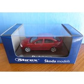 Skoda Octavia Limousine Tdi 2004 Metal Red Flamenco Abrex 143ab-001j 1/43 Rot