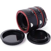 XCSOURCE� Tube Macro Auto Focus Extension pour Canon EOS Camera Red 5D 6D 50D 60D 500D 550D 600D 650D 7D 70D 700D 1100D 1000D DC467