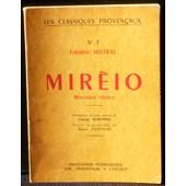 Fr�d�ric Mistral Mir�io Morceaux Choisis Les Classiques Proven�aux Association Lou Prouven�au A L'escolo 1956