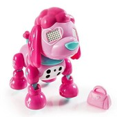 Zoomer Robot Chien Zuppies Love Glam