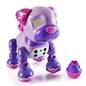 Zoomer Robot Chien Zuppies Love Cupcake