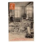 Carte Postale Ancienne 9x14 Anim�e Voyag�: St Di�,Int�rieure De La Gare, Bureau De La Petite Vitesse. 88 Vosges.