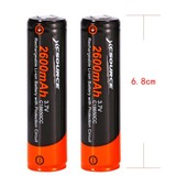 2x 3.7V 18650 XCSOURCE 2600mAh Li-ion Rechargeable Battery For Flashlight LD650