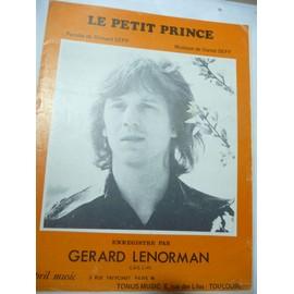 LE PETIT PRINCE Gérard Lenorman