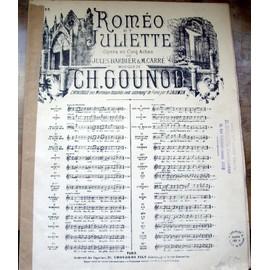 ROMEO ET JULIETTE - GOUNOD-N°13 DUO.CHOUDENS .1413(13)