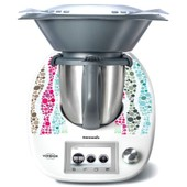 Stickers Thermomix Tm 5 Mosaique En Couleur Ref: Thermo-Tm5-100
