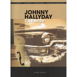 Hallyday : L'attente (chant / guitare)