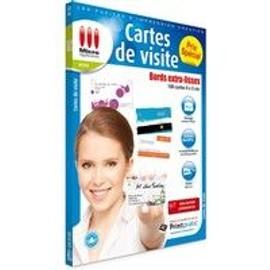Cartes De Visite Bords Extra-Lisses 100 Cartes 9 X 5 Cm