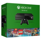 Console Xbox One 500 Go + Jeu The Lego Movie Videogame (Pack Limited)