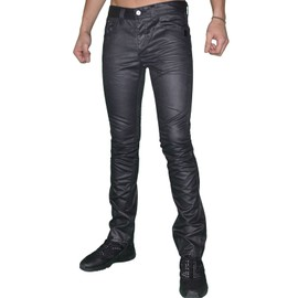 Biaggio Jeans - Jean - Homme - Dianol - Noir Huil�