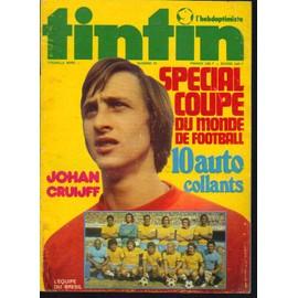 Tintin / Johan Cruiff / Special Coupe Du Monde De Football 1974 / N� 75