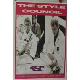 Style Council The - AFFICHE MUSIQUE / CONCERT / POSTER