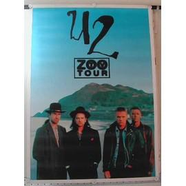 U2 - Zoo tour - AFFICHE MUSIQUE / CONCERT / POSTER