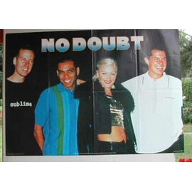 No Doubt - PLIEE - AFFICHE MUSIQUE / CONCERT / POSTER