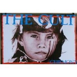 Cult The - AFFICHE MUSIQUE / CONCERT / POSTER