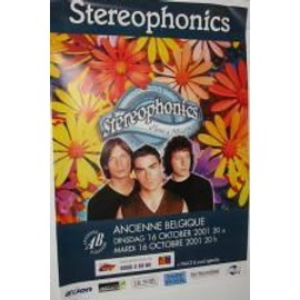 Stereophonics - B -  2001 - AFFICHE MUSIQUE / CONCERT / POSTER