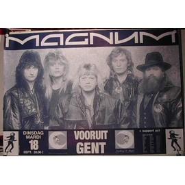 Magnum - AFFICHE MUSIQUE / CONCERT / POSTER