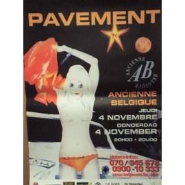 Pavement - AFFICHE MUSIQUE / CONCERT / POSTER