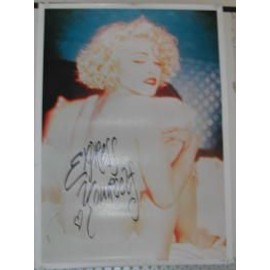 Madonna - Express Yourself - AFFICHE MUSIQUE / CONCERT / POSTER